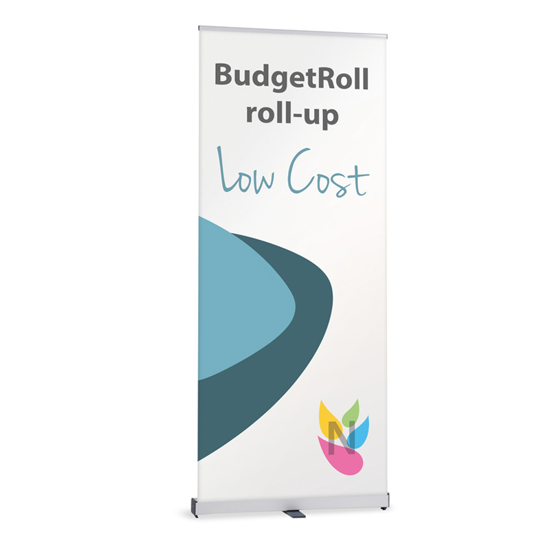 BudgetRoll Roll-Up enrouleur Pas cher lowcost