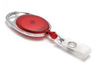 Evolis Beltzip IDS 970 ovale red translucide 1460076