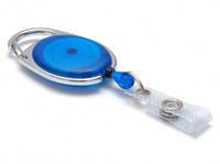 Evolis Beltzip IDS 980 rond bleu translucide1461079