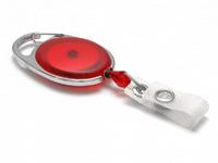 Evolis Beltzip IDS 980 rond rouge translucide1461076