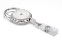 Evolis Beltzip IDS 980 rond blanc translucide1461078