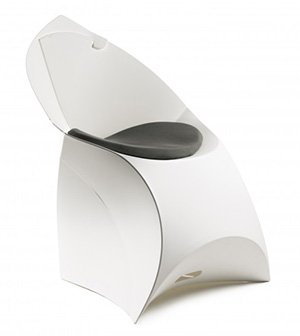 Flux Chair FCHPAD WHGR Antracite