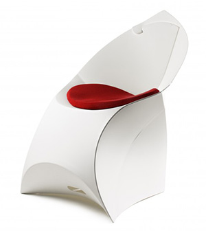 Flux Chair FCHPAD WHRD Red