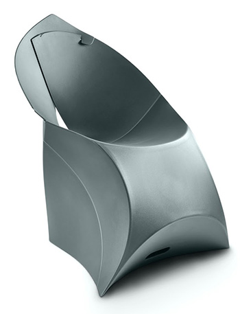 Flux Chair FCH-003 Gris Anthracite