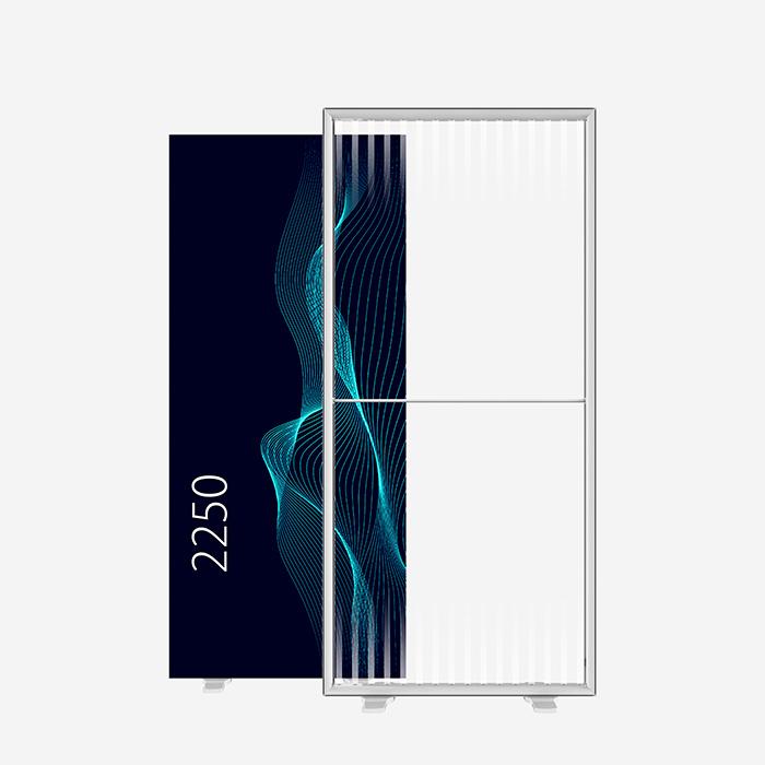 Lucid Lightbox 9501-225 100x225 caisson lumineux textile
