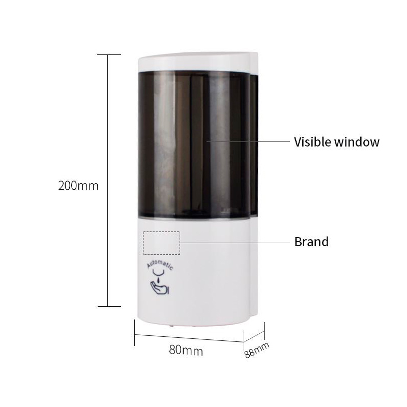 Mini stand station gel desinfectant hydroalcoolique dispenser 500ml