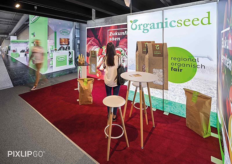 PIXLIP-GO lightbox cadre lumineux salon foire exposition