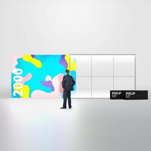 Pixlip GO Lightbox 156007 300x200 cadre lumineux textile
