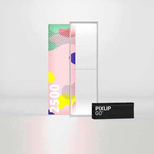 Pixlip GO Lightbox 156008 085x250 cadre lumineux textile