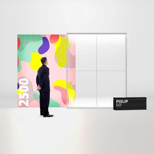Pixlip GO Lightbox 156009 200x250 cadre lumineux textile