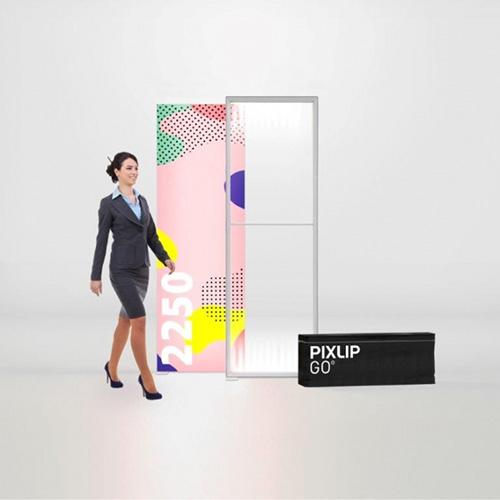 Pixlip GO Lightbox 156013 085x225 cadre lumineux textile