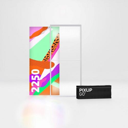 Pixlip GO Lightbox 156014 100x225 cadre lumineux textile