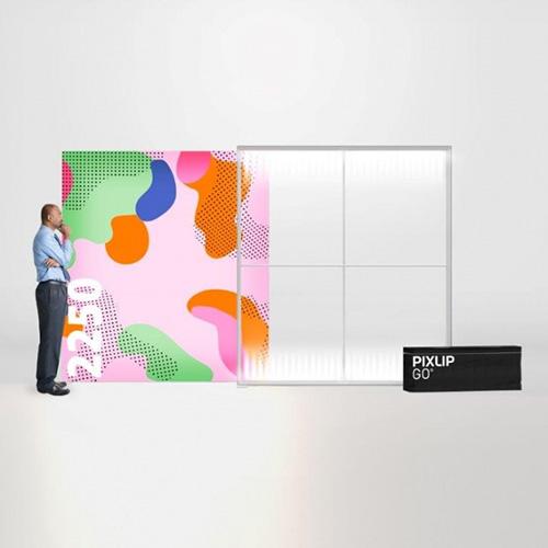 Pixlip GO Lightbox 156015 200x225 cadre lumineux textile