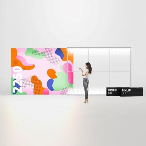 Pixlip GO Lightbox 156016 300x225 cadre lumineux textile