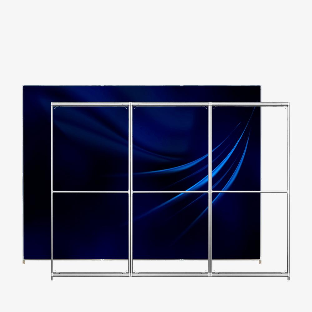 Quick Frame SEGO 40 2653 300-250 cadre textile autoportant