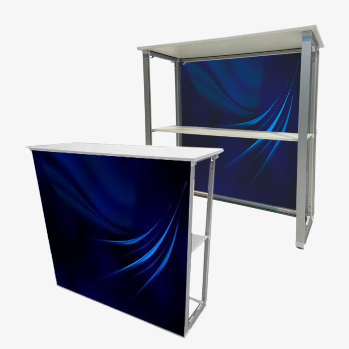 Quick Frame SEGO 40 2680 counter textile comptoir autoportant