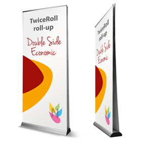 Twice roll-up double face recto/verso