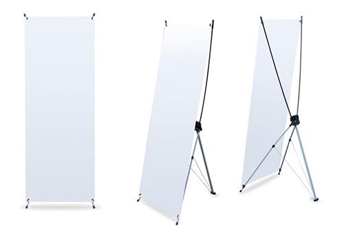 X-X-Banner Basic le stand auto-portantpas cher