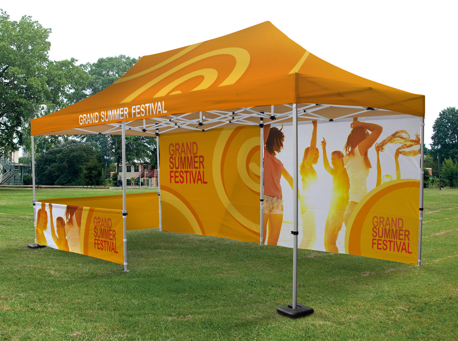 Zoom-Tent Tente pliable 4x6