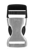 attache cordon badge boucle détachable metal plastique