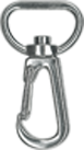 attache cordon badge mousqueton metal luxe
