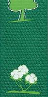 cordon badges coton écologique