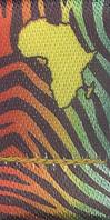 cordon badges polyester satin quadri sublimation