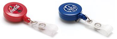 zip enrouleur badge personnalisable