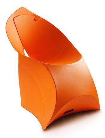 Flux Chair FCH-005 Orange Vif