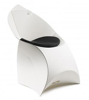 Flux Chair FCHPAD WHBK Black