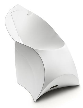 Flux Chair FCH-001 Blanc pur