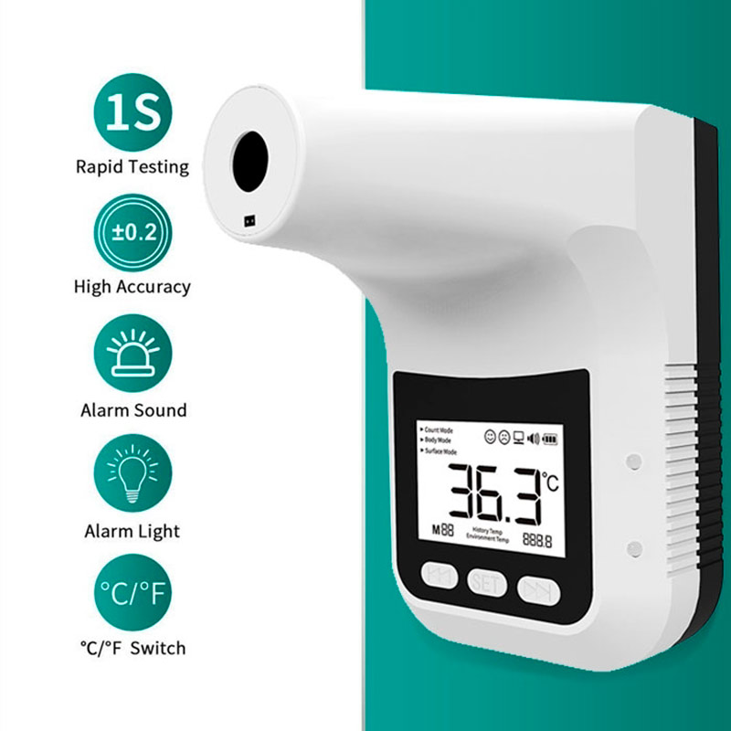 K3-PRO Thermometre frontal sans contact Covid-19