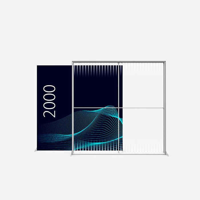 Lucid Lightbox 9502-200 200x200 caisson lumineux textile