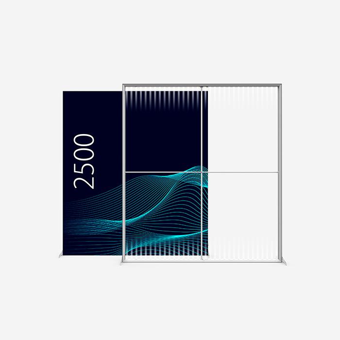 Lucid Lightbox 9502-250 200x250 caisson lumineux textile