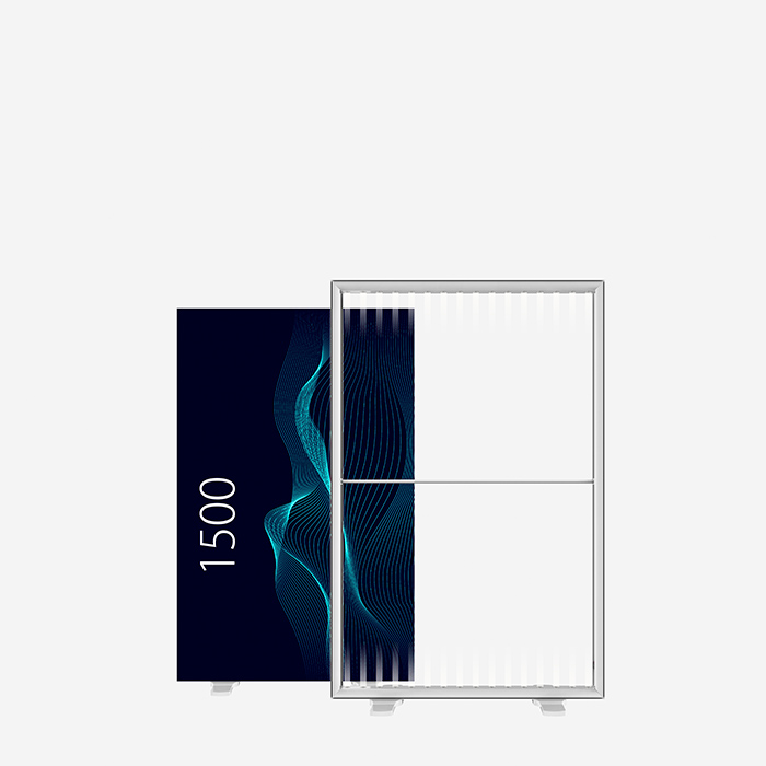 Lucid-Lightbox 9529-150 100x150 caisson lumineux textile
