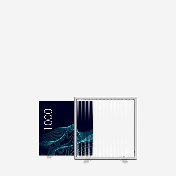 Lucid Lightbox 9530-100 100x100 caisson lumineux textile