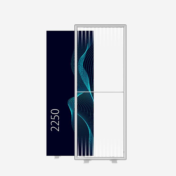 Lucid Lightbox 9585-225 085x225 caisson lumineux textile