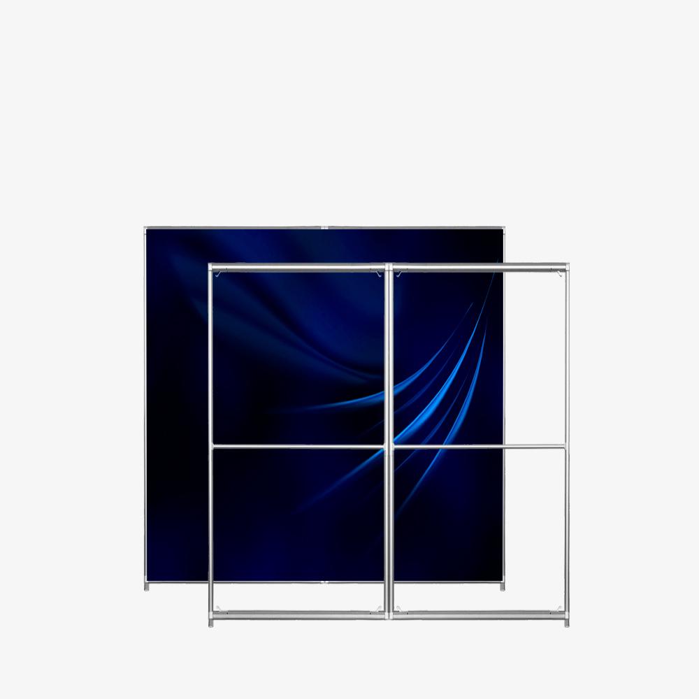 Quick Frame SEGO 40 2652 200-200 cadre textile autoportant