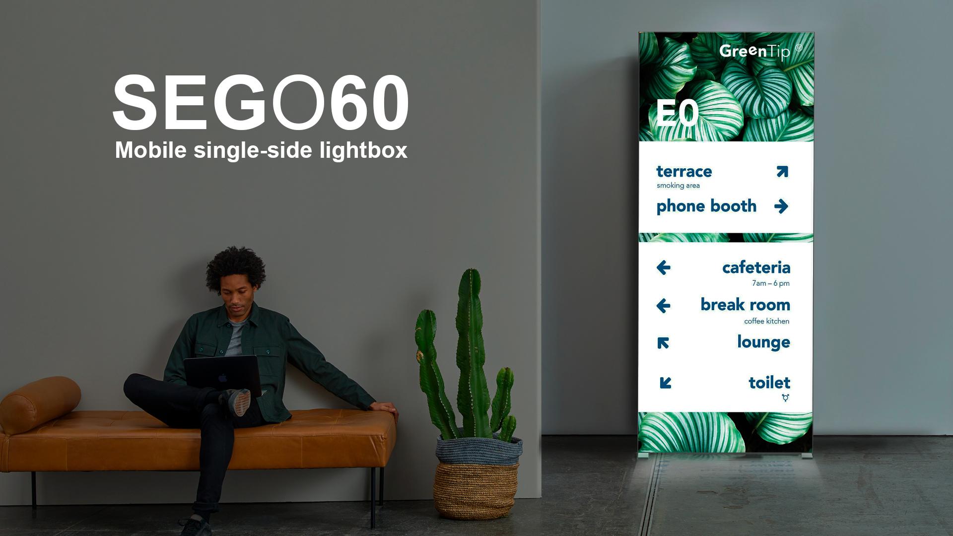 SEDO 60 MOBILE LIGHTBOX BACKLIT TEXTILE