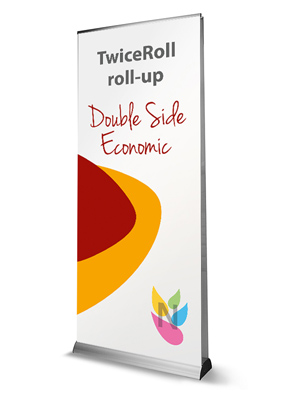 TwiceRoll roll-up double face recto verso