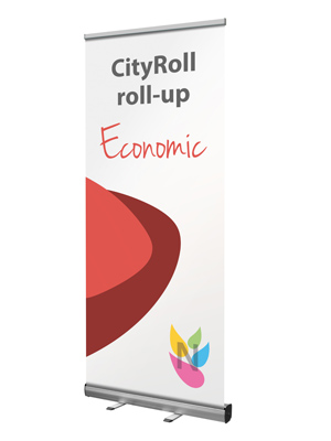 CityRoll roll-up enrouleur economique et solide budget lowcost à petit prix